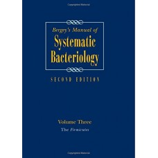 BERGEY'S MANUAL OF SYSTEMATIC BACTERIOLOGY,2E,VOL 3