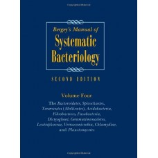 BERGEY'S MANUAL OF SYSTEMATIC BACTERIOLOGY, 2E, VOL 4